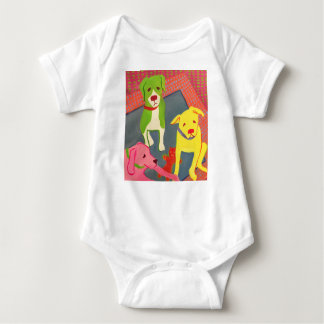 Funny Dogs Baby romper