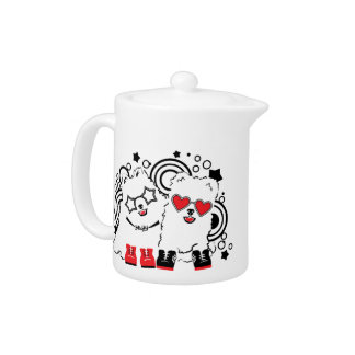 Funny dogs. Cute animal festive cool design