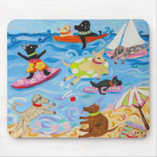 Funny Dogs Mousepad