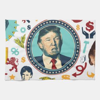 funny donald trump kitchen towels