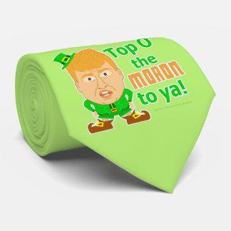 Funny Donald Trump Leprechaun St Patricks 2016 Tie