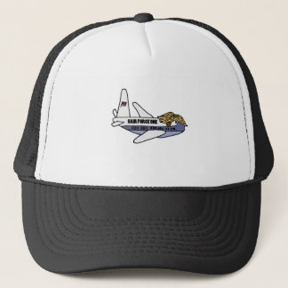 Funny Donald Trump Presidential Airplane Trucker Hat