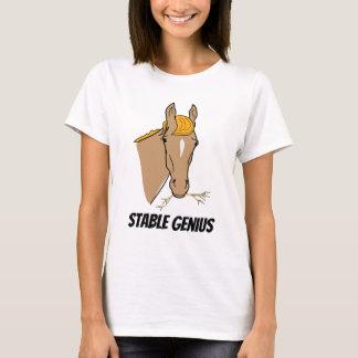 Funny Donald Trump Stable Genius Horse T-Shirt