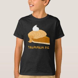Funny Donald Trump Trumpkin Pie T-Shirt
