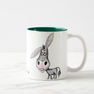Funny donkey mug design