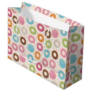 Funny Donut Large Gift Bag