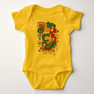 Funny doodle baby bodysuit