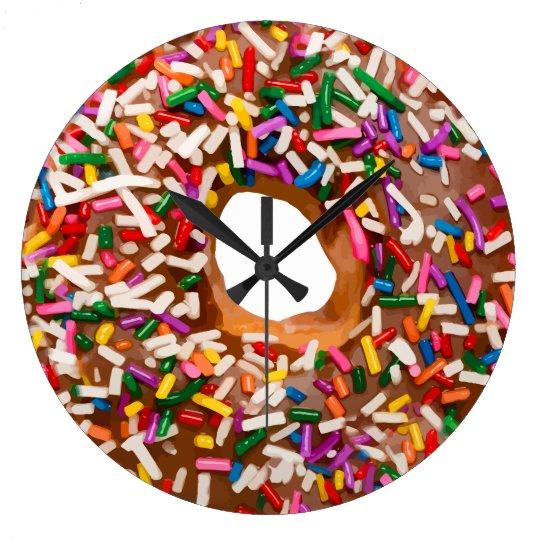 Funny Doughnut Kitchen Wall Clocks