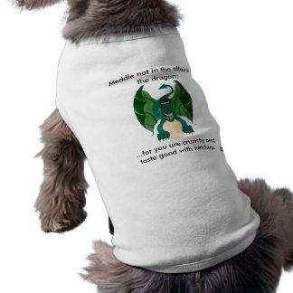 Funny Dragon Doggy Top Dog T-shirt