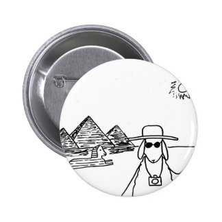 Funny drawings 2 inch round button