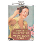 funny drinking quotes hip flask