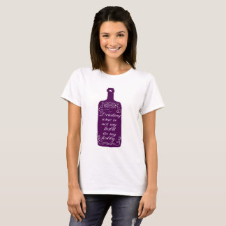 Funny Drinking Wine Hobby T-Shirt
