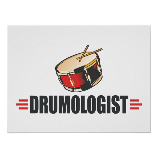 Funny Drum Posters
