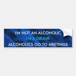 Funny Drunk Bumper Sticker