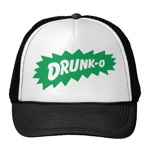 Funny 'DRUNK-O' Mesh Truckers Hat