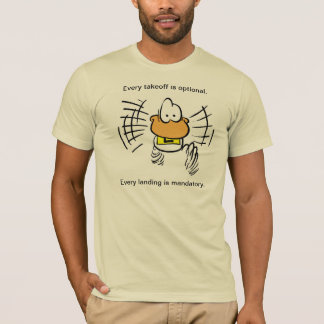 Funny Duck Aviation Humor Shirt