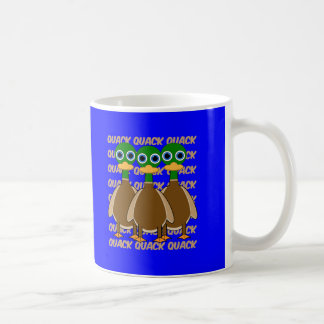 funny ducks coffee mug