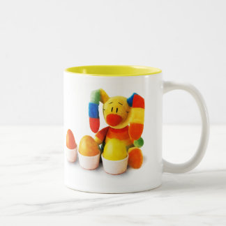 Funny Easter Bunny. Easter Gift Mug for Kids
