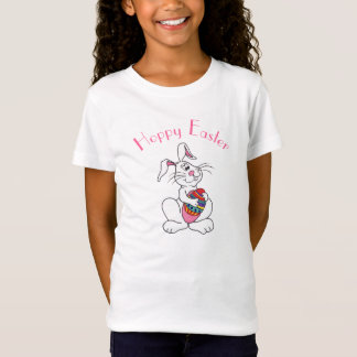 Funny Easter Bunny & Egg - Customizable T-shirt
