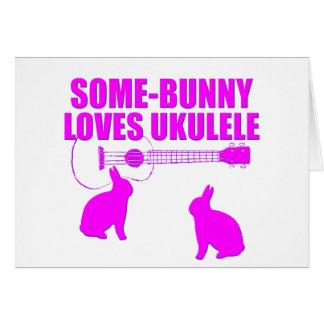 Funny Easter Ukulele Card