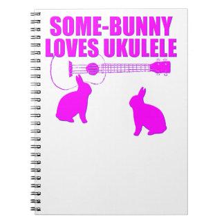 Funny Easter Ukulele Notebooks