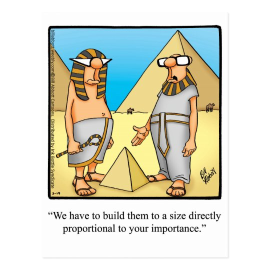 Funny Pictures About Egypt: Funny Egyptian Humour Postcard