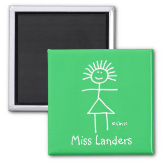 Funny Elementary School Teacher Magnet