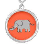 Funny elephant pendant