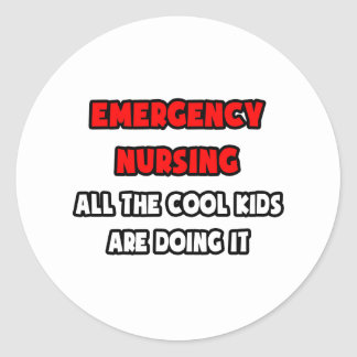 Funny Emergency Nurse Shirts and Gifts Sticker