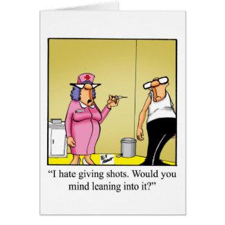 Funny Emergency Nurses Day Greeting Card