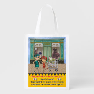 Funny Emergency Shopping Bag Personalized Grocery Bags
