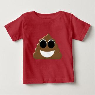 Funny Emoji Poo Baby T-Shirt