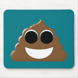 Funny Emoji Poo Mouse Pad