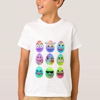 Funny Emojis, Easter Emoji Eggs, Emoticon Egg T-Shirt