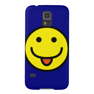 Funny Emoticon Tongue Out Cases For Galaxy S5