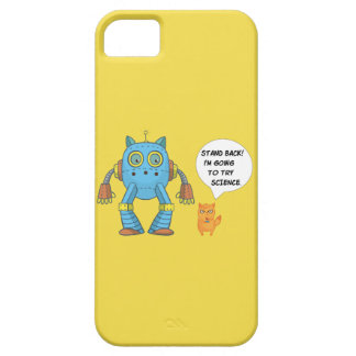 Funny Engineering Science Robotics And Angry Cat iPhone 5 Covers