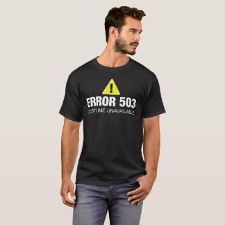 Funny Error Halloween Shirt for Web Developers