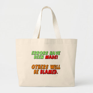 Funny Errors Made T-shirts Gifts Canvas Bags
