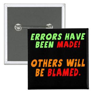 Funny Errors Made T-shirts Gifts Pins