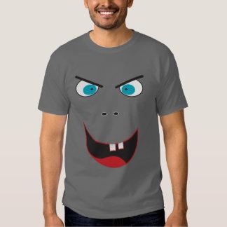 Funny evil grinning  face shirt
