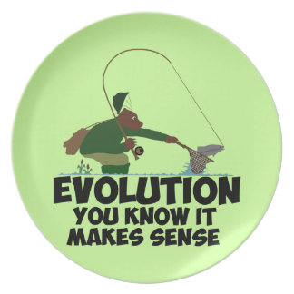 Funny evolution plate