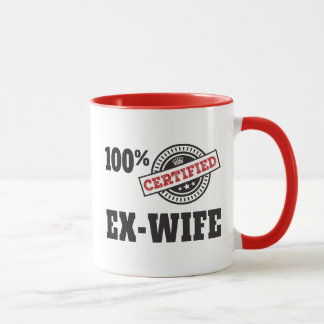 Funny Ex Wife Divorce Mug