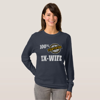 Funny Ex Wife Divorce T-Shirt