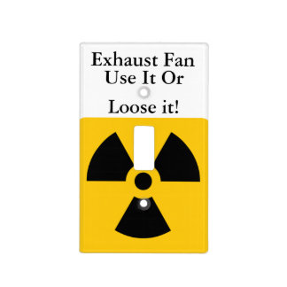 Funny Exhaust Fan Switch Cover