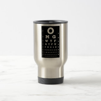 Funny Eye Chart Mug