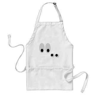 funny eyes standard apron