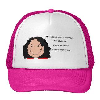 Funny Face art for Trucker-Hat Trucker Hat