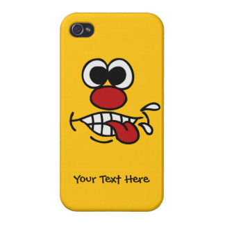 Funny Face custom cases iPhone 4/4S Covers