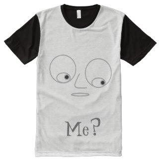 Funny Face Design Men's T-Shirt