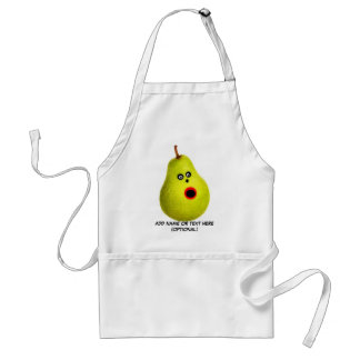 Funny Face Pear Standard Apron
